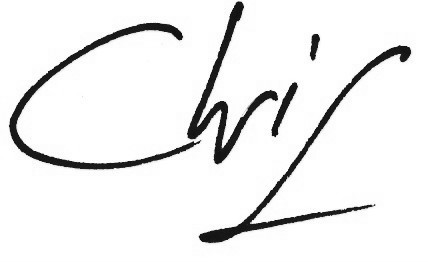 Chris Robinson signature
